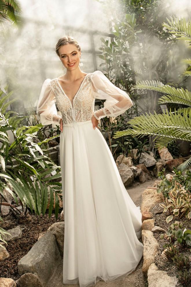 Suknia ślubna TO-1305T Agnes