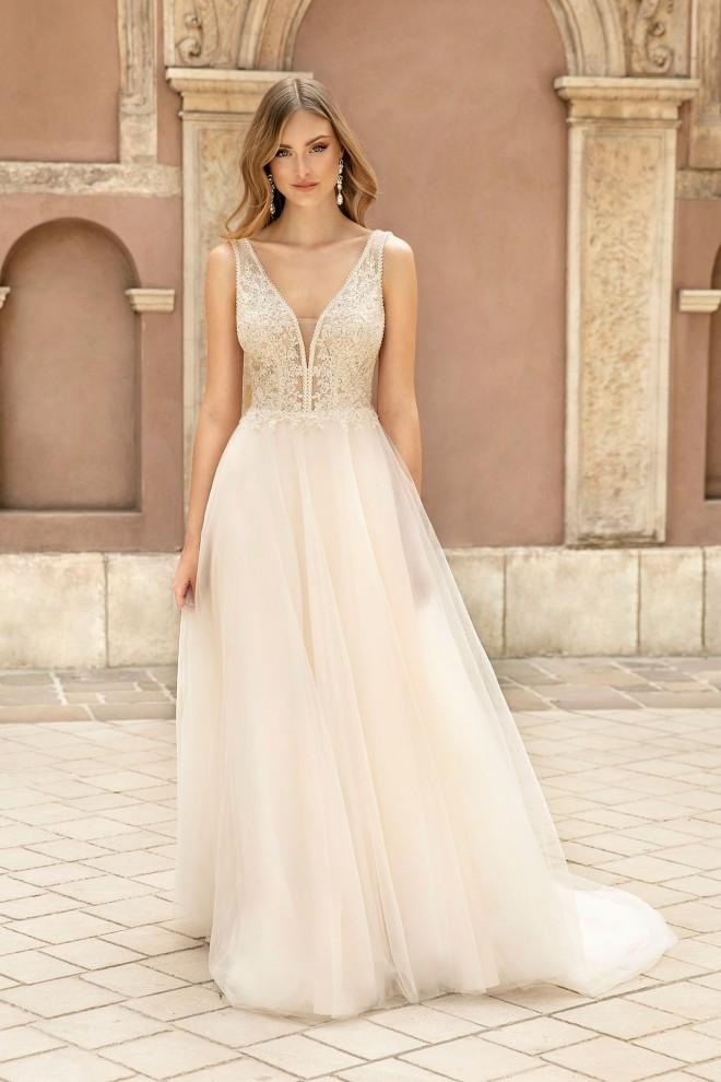 Suknia ślubna TO-1310T Agnes