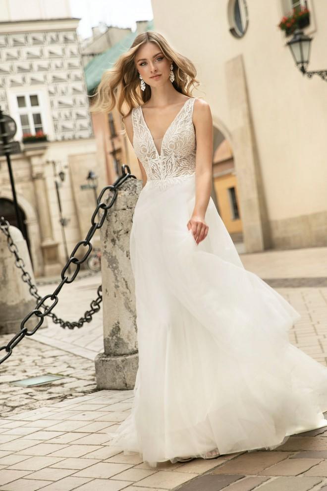 Suknia ślubna TO-1314T Agnes