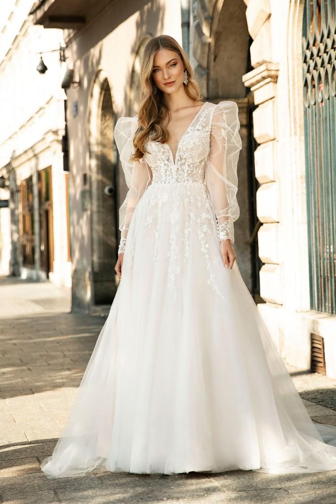 Suknia ślubna TO-1317T Agnes