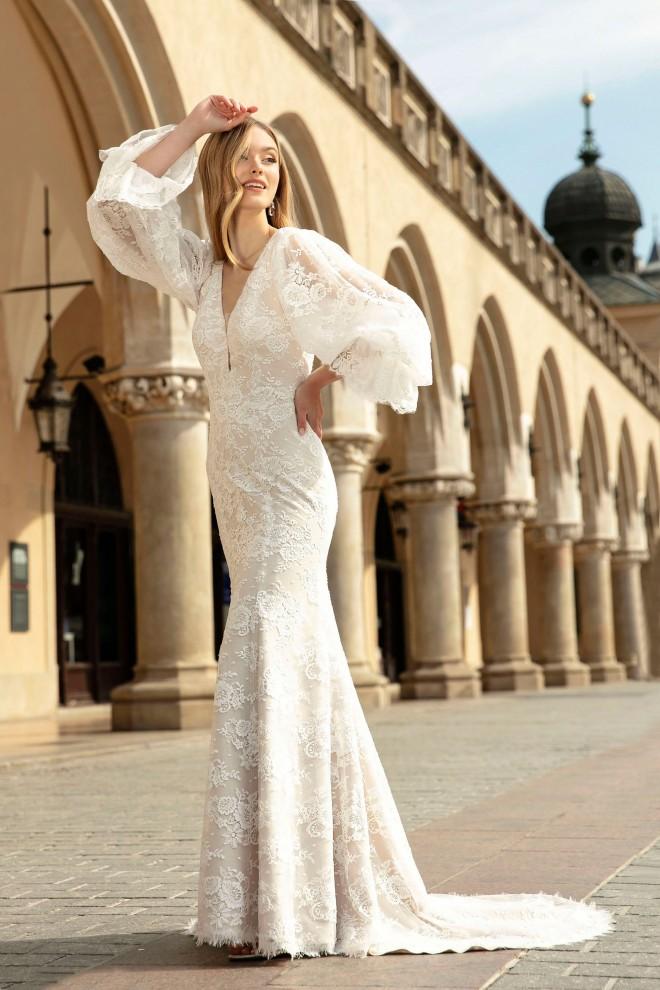 Suknia ślubna TO-1318T Agnes