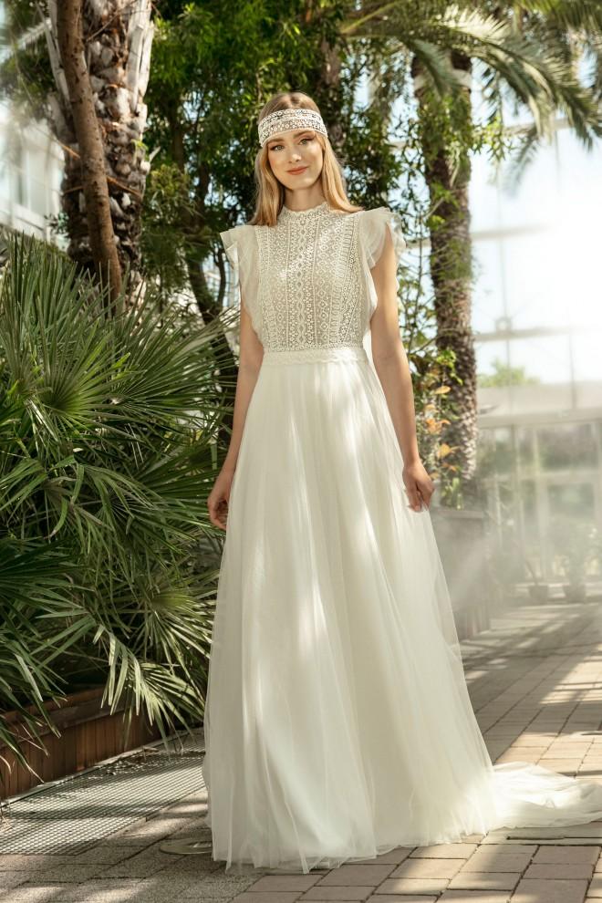 Suknia ślubna TO-1327T Agnes