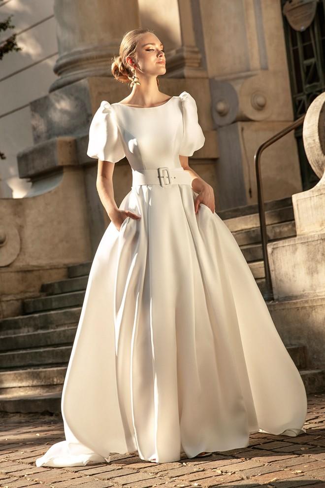 Suknia ślubna TO-1263T Agnes