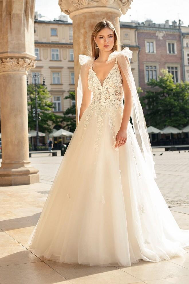 Suknia ślubna TO-1352T Agnes