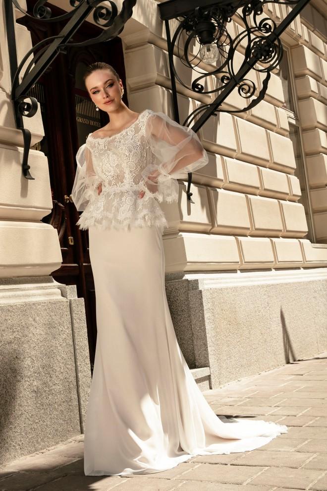 Suknia ślubna TO-1353T Agnes