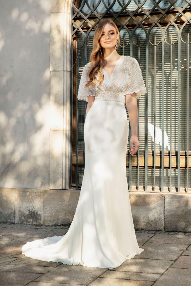 Suknia ślubna TO-1356T Agnes