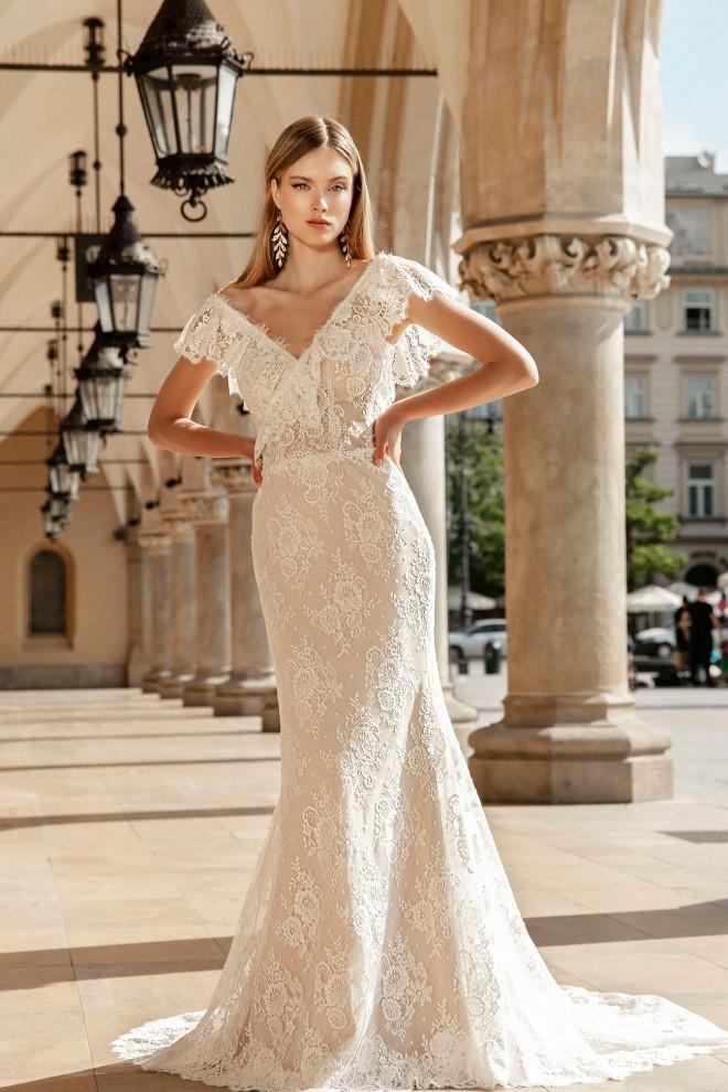 Suknia ślubna TO-1360T Agnes