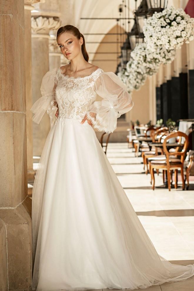 Suknia ślubna TO-1361T Agnes
