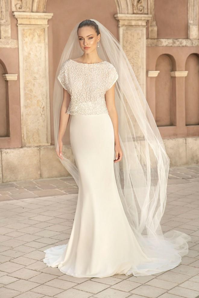 Suknia ślubna TO-1379T Agnes