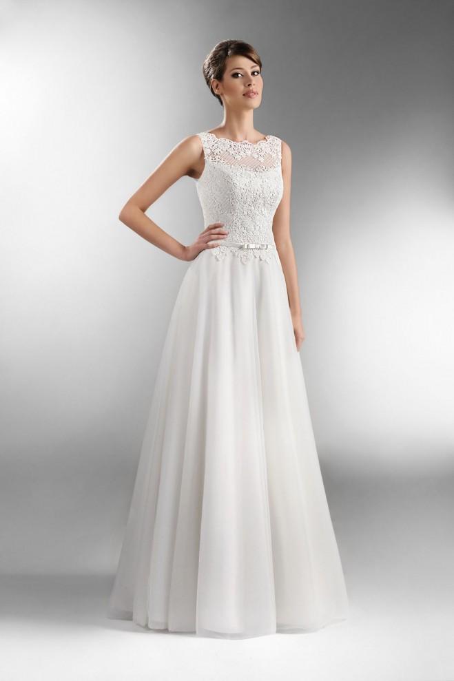 50683879fc TO-536 - The One 2016 - Kolekcja sukni ślubnych Agnes - koronkowe ...