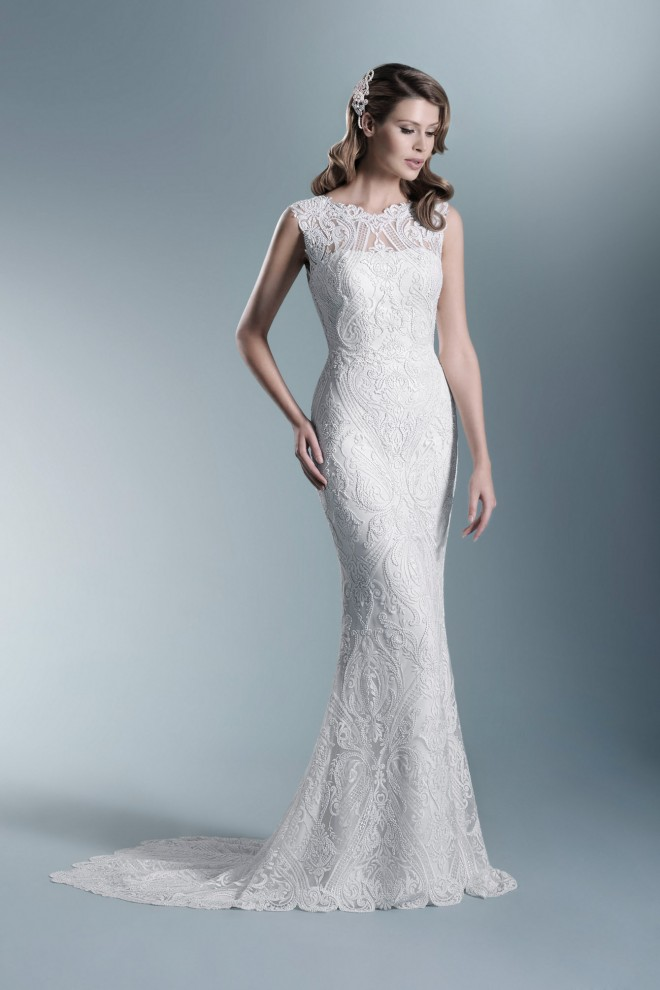 TO-685T - The One 2017 - Wedding dresses - Agnes - lace wedding ...