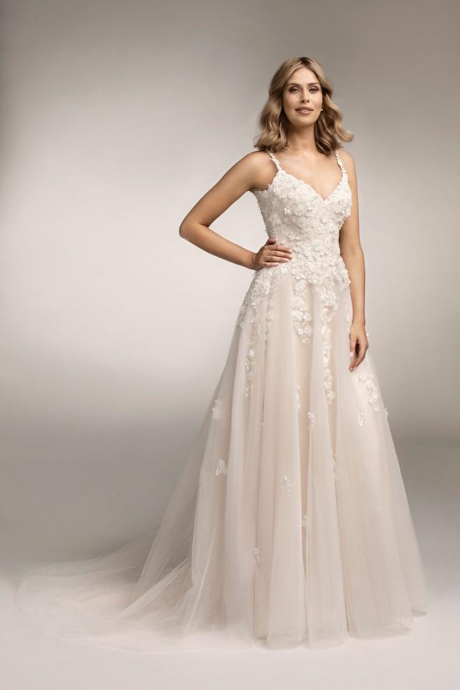 Suknia ślubna TO-963T Agnes