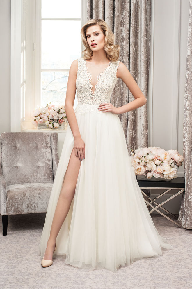 wedding dresses - Lookbook The One 2018