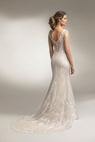 suknia ślubna TO-1000T tył
