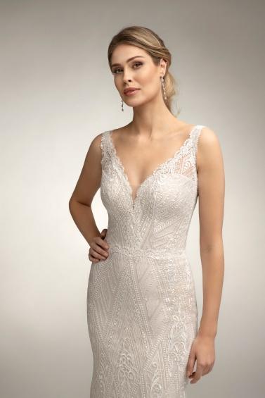 suknia ślubna TO-1000T zbliżenie