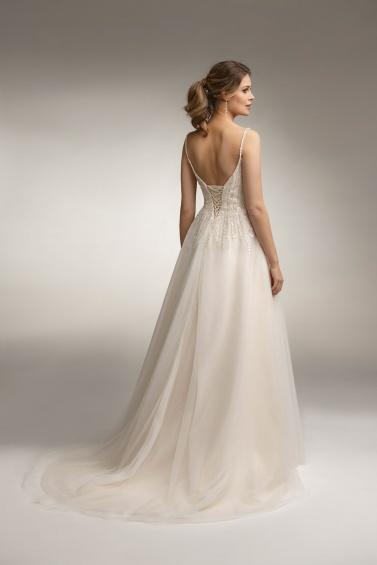 suknia ślubna TO-1001T tył