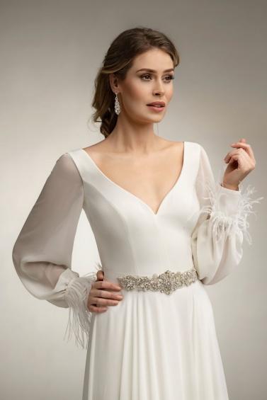 suknia ślubna TO-1003T PS-91 zbliżenie