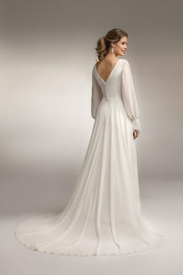 suknia ślubna TO-1003T PS-91 tył