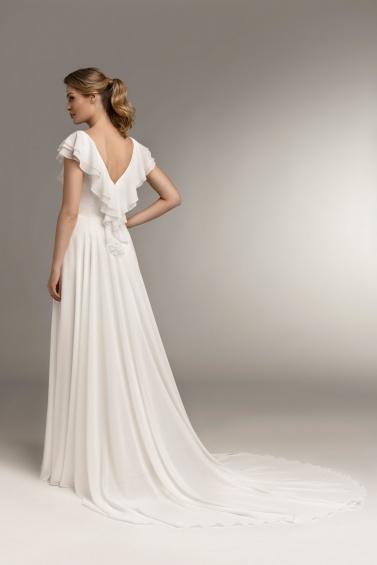 suknia ślubna TO-1006T PS-91 tył