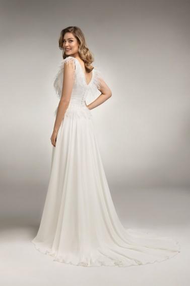 suknia ślubna TO-1007T tył