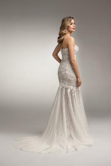 suknia ślubna TO-1015T tył
