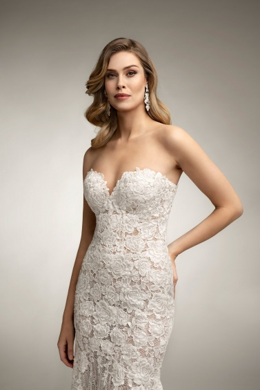 suknia ślubna TO-1015T zbliżenie