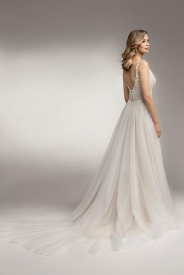 suknia ślubna TO-1018T TR-131 tył