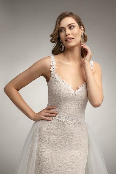 suknia ślubna TO-1018T TR-131 zbliżenie
