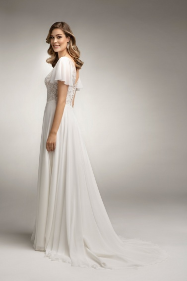 suknia ślubna TO-1019T tył