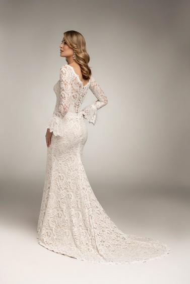 suknia ślubna TO-1020T tył