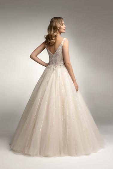 suknia ślubna TO-1033 tył