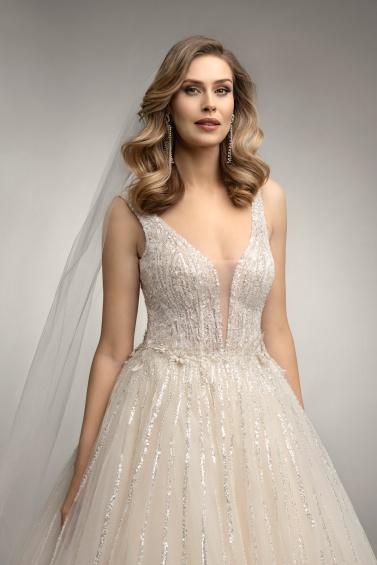 suknia ślubna TO-1033 zbliżenie
