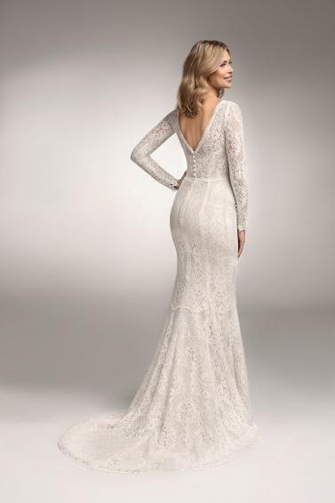 suknia ślubna TO-1037T tył