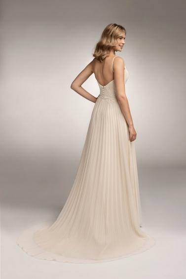 suknia ślubna TO-1043T tył