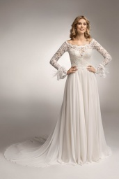 suknia ślubna TO-1044T przód