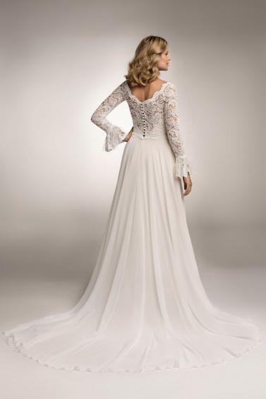 suknia ślubna TO-1044T tył