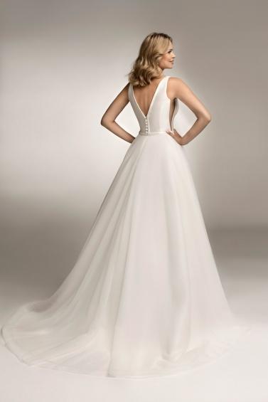 suknia ślubna TO-1045T tył