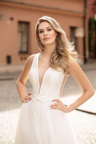 suknia ślubna TO-1045T zbliżenie