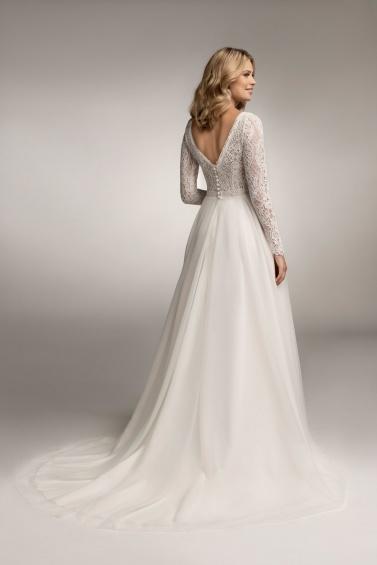 suknia ślubna TO-1046T tył