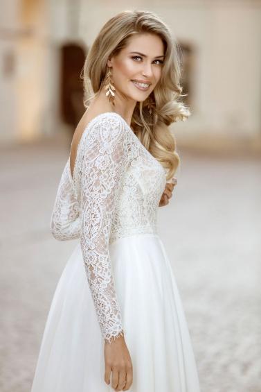 suknia ślubna TO-1046T zbliżenie