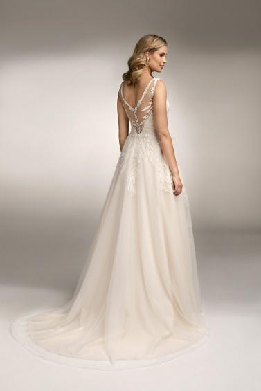 suknia ślubna TO-1048T tył