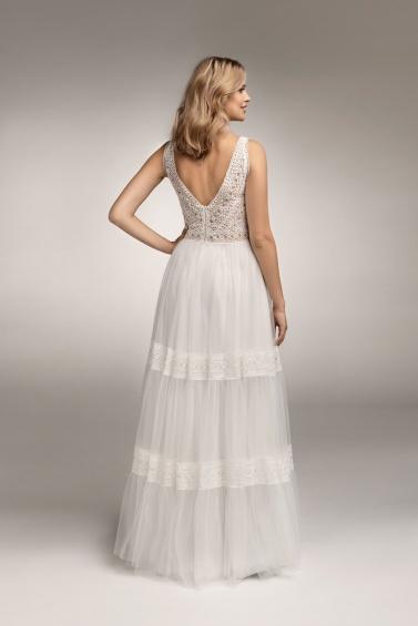 suknia ślubna TO-1068 tył