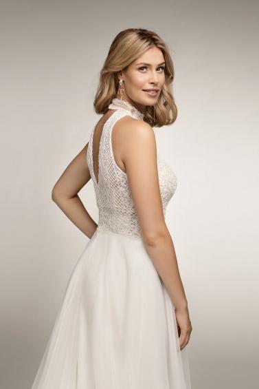 suknia ślubna TO-1071T tył