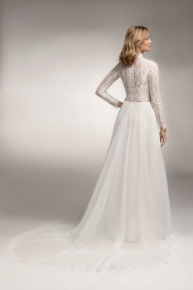 suknia ślubna TO-1072T tył