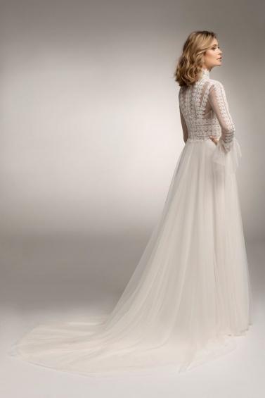 suknia ślubna TO-1073T tył