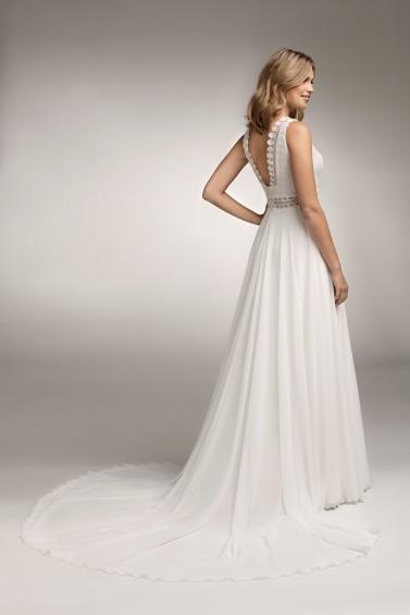 suknia ślubna TO-1074T tył