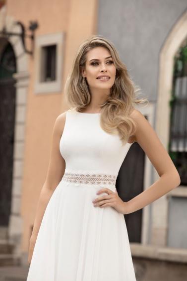 suknia ślubna TO-1074T zbliżenie