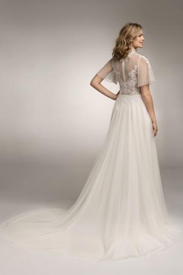 suknia ślubna TO-1077T tył