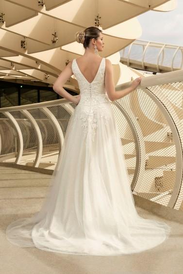 suknia ślubna TO-1089T tył