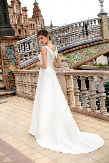 suknia ślubna TO-1094T tył